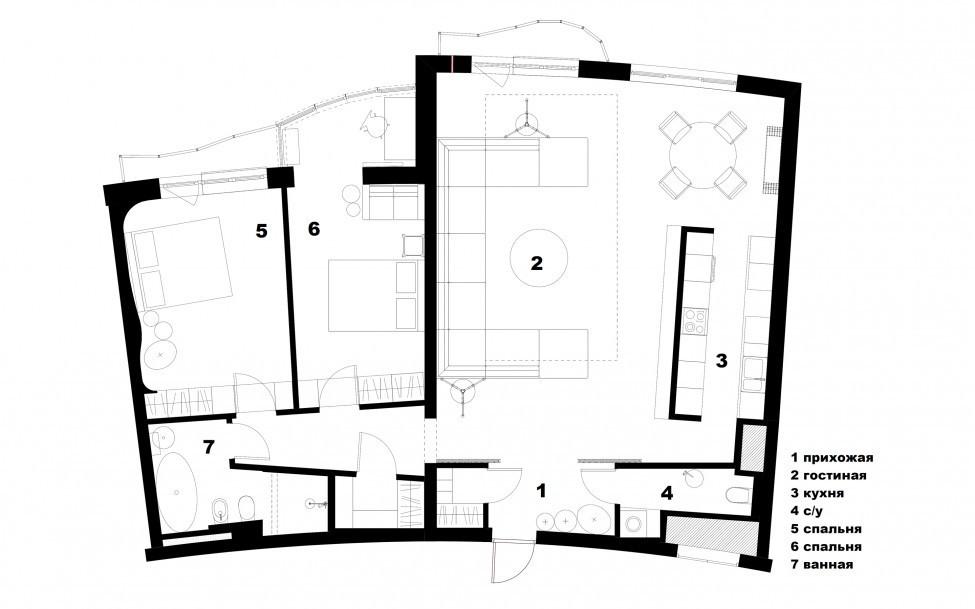 120 кв. м апартамент за разточителна почивка - 30