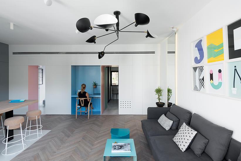 55 кв. м жилище с две спални - 14