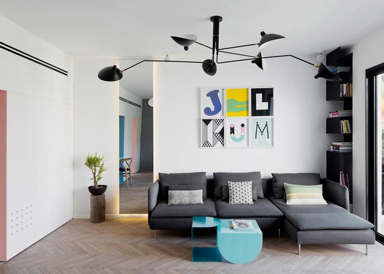 55 кв. м жилище с две спални - 21