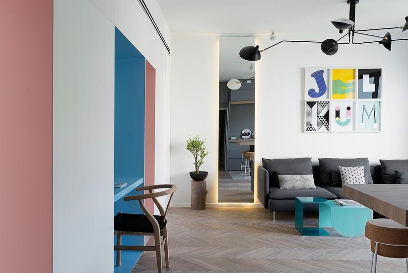55 кв. м жилище с две спални - 3