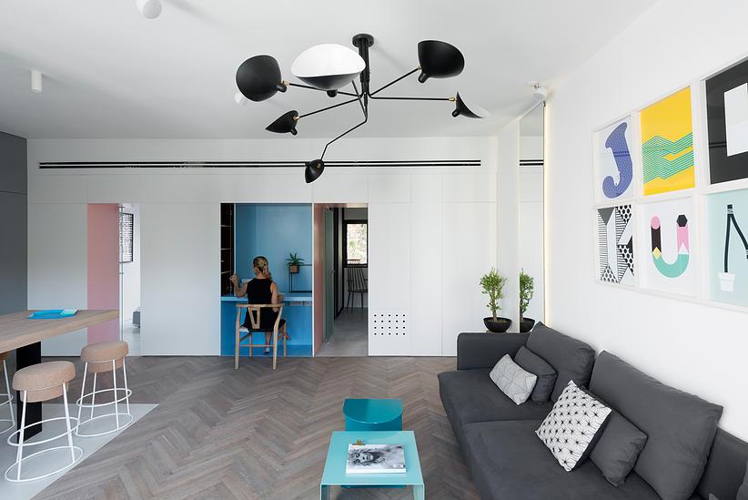 55 кв. м жилище с две спални - 8