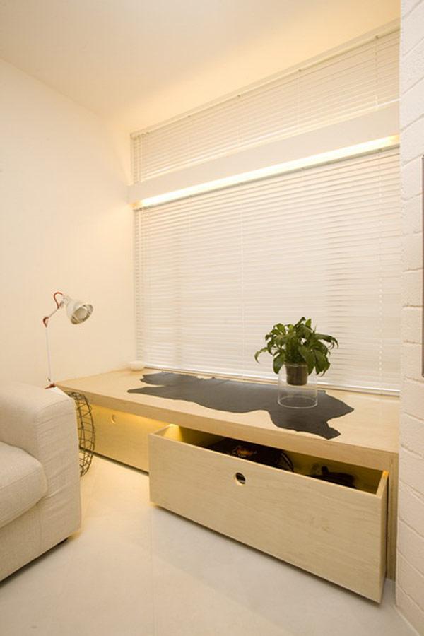 Гениални решения в уютния 39 кв. м апартамент_дневна_5