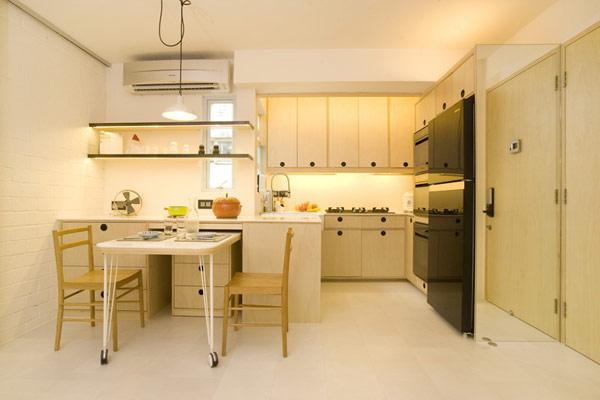 Гениални решения в уютния 39 кв. м апартамент_кухня