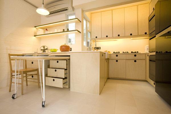 Гениални решения в уютния 39 кв. м апартамент_кухня_2