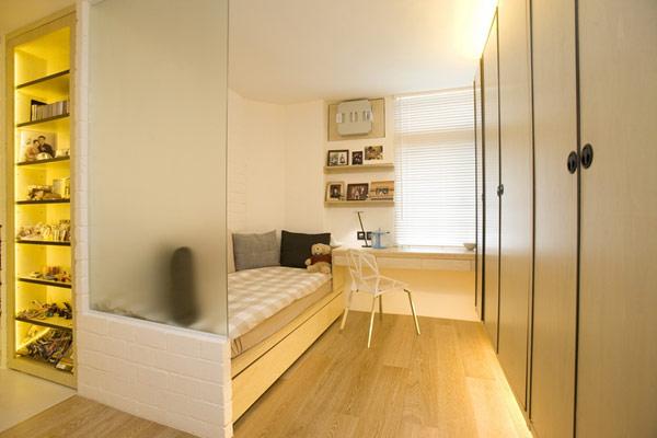 Гениални решения в уютния 39 кв. м апартамент_спалня_1