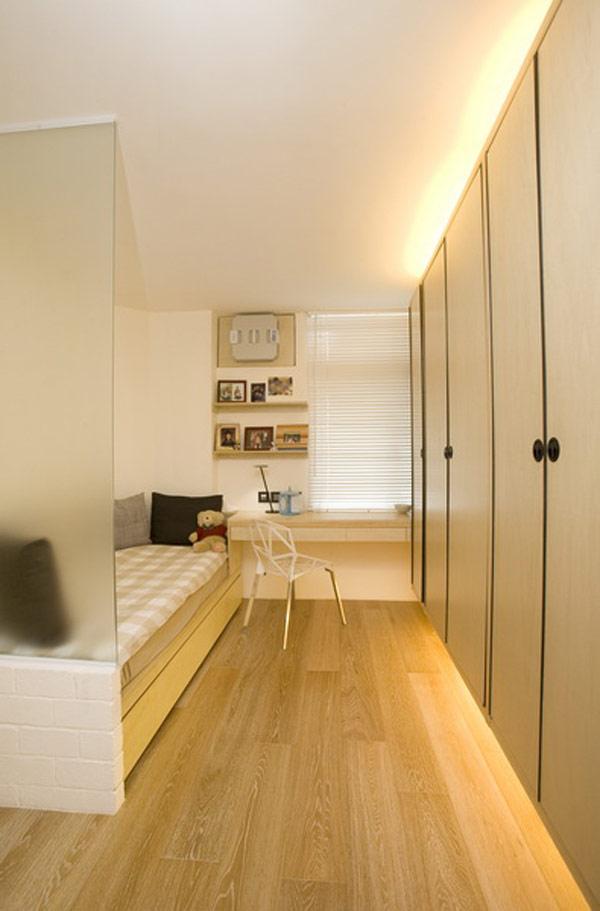 Гениални решения в уютния 39 кв. м апартамент_спалня_2
