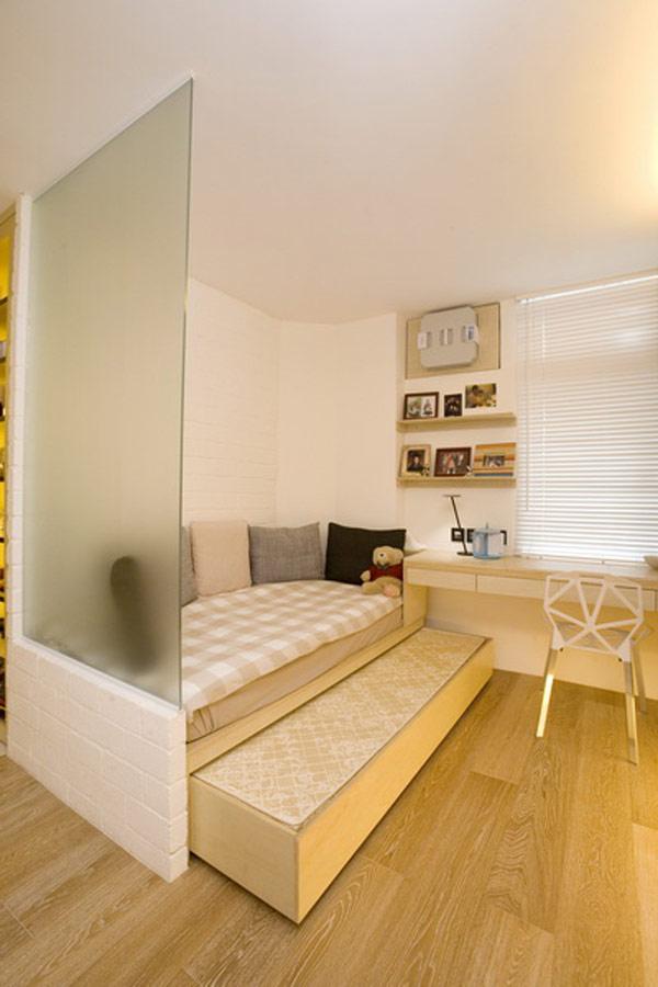 Гениални решения в уютния 39 кв. м апартамент_спалня_3