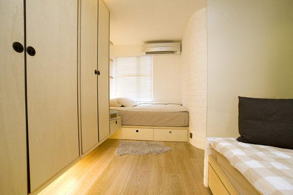 Гениални решения в уютния 39 кв. м апартамент_спалня_4