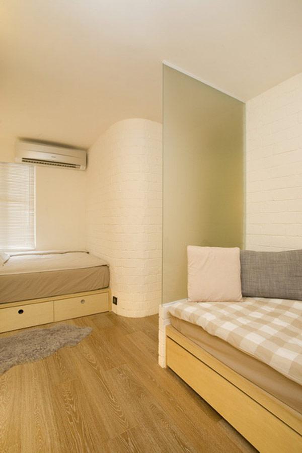Гениални решения в уютния 39 кв. м апартамент_спалня_5