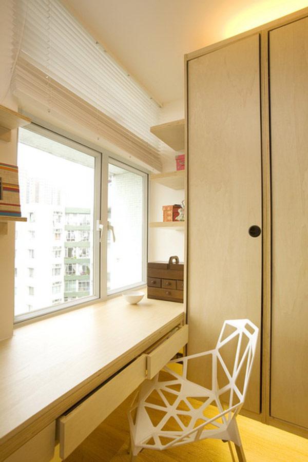 Гениални решения в уютния 39 кв. м апартамент_спалня_6