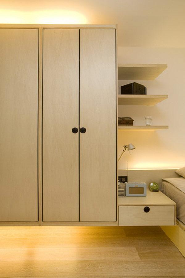 Гениални решения в уютния 39 кв. м апартамент_спалня_7