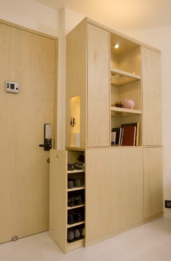 Гениални решения в уютния 39 кв. м апартамент_шкаф в антре_1