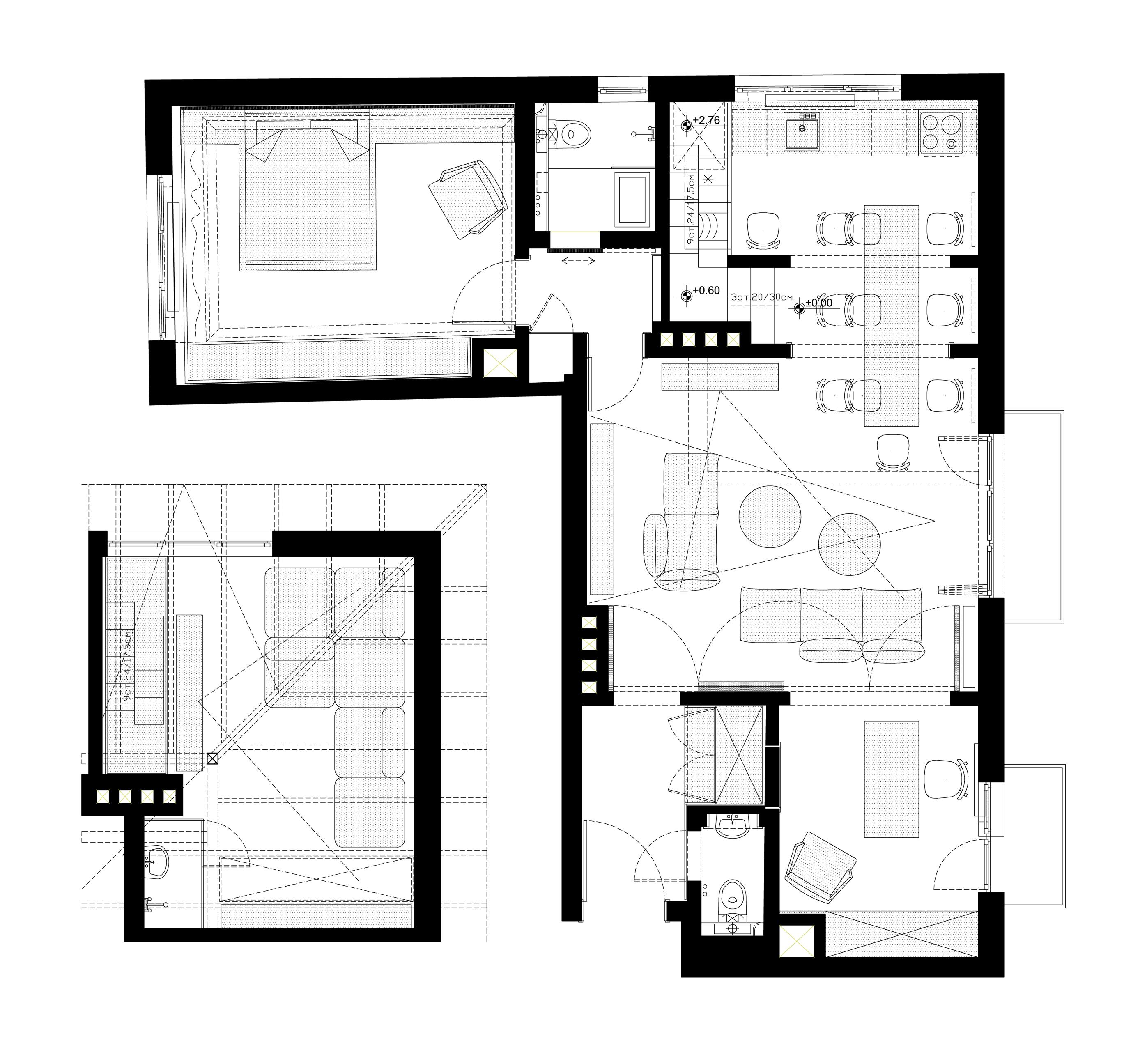 апартамент в София - H01_план