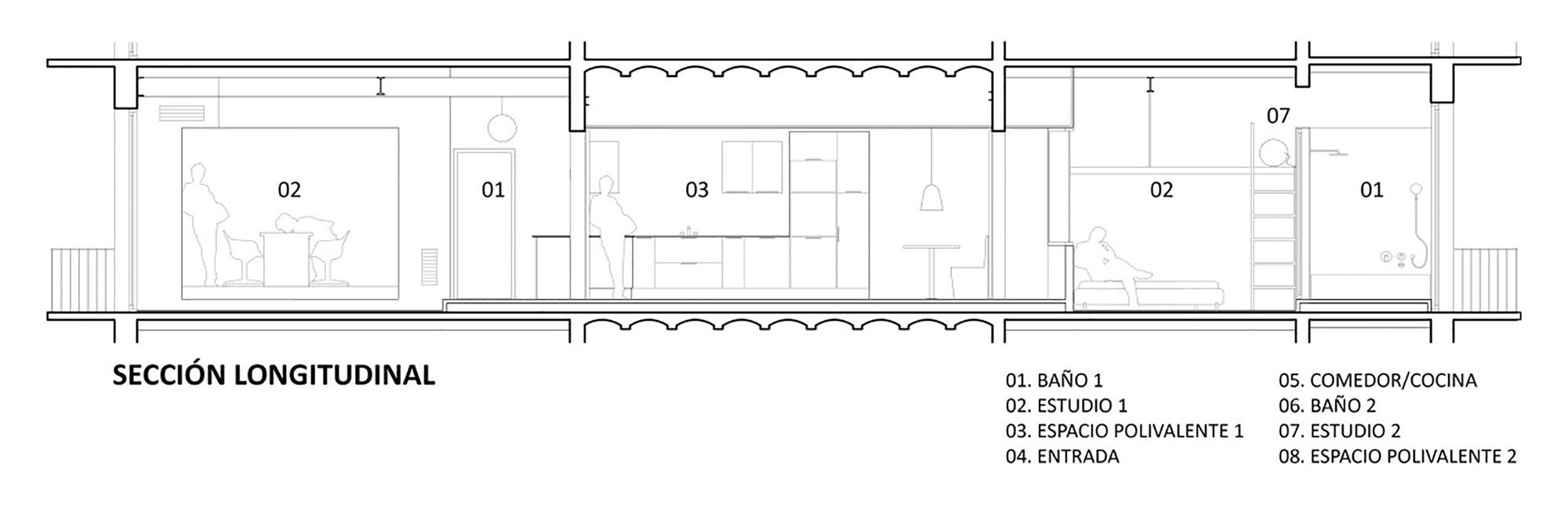 апартамент на две части_план