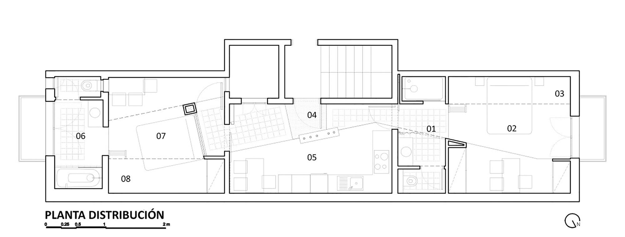 апартамент на две части_разпределение