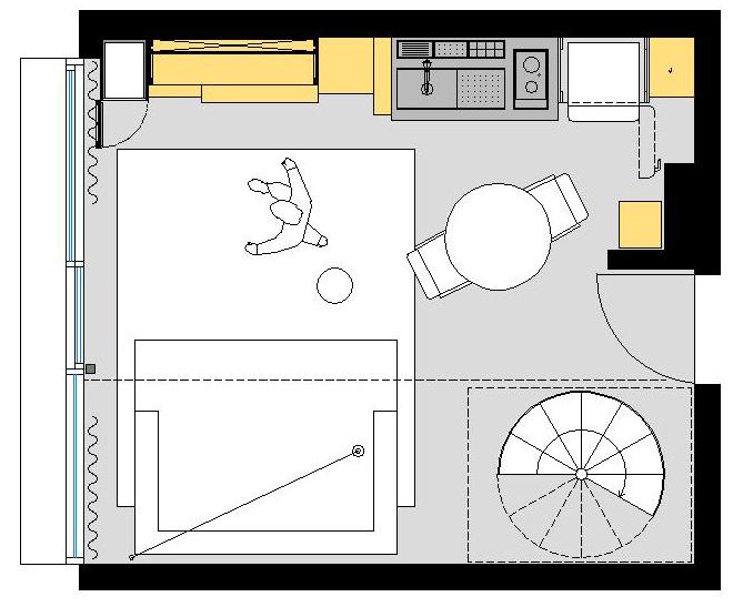 компактен малък апартамент_12