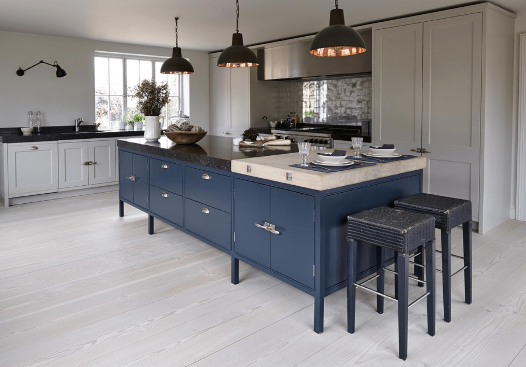 Navy Blue Kitchens That Look Cool And: Идеи за цветове, с които кухнята да засияе