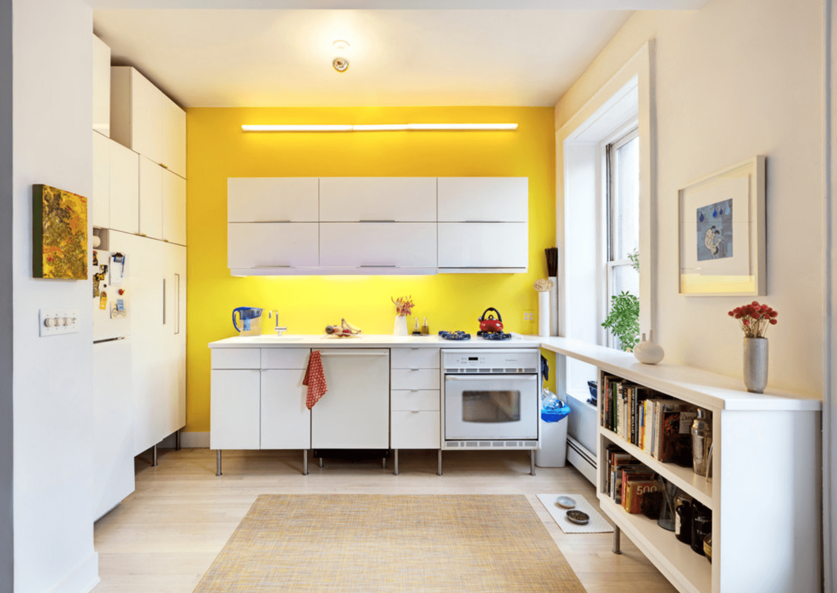 Combobg for Kitchen colors with white cabinets with rouleaux papier peint