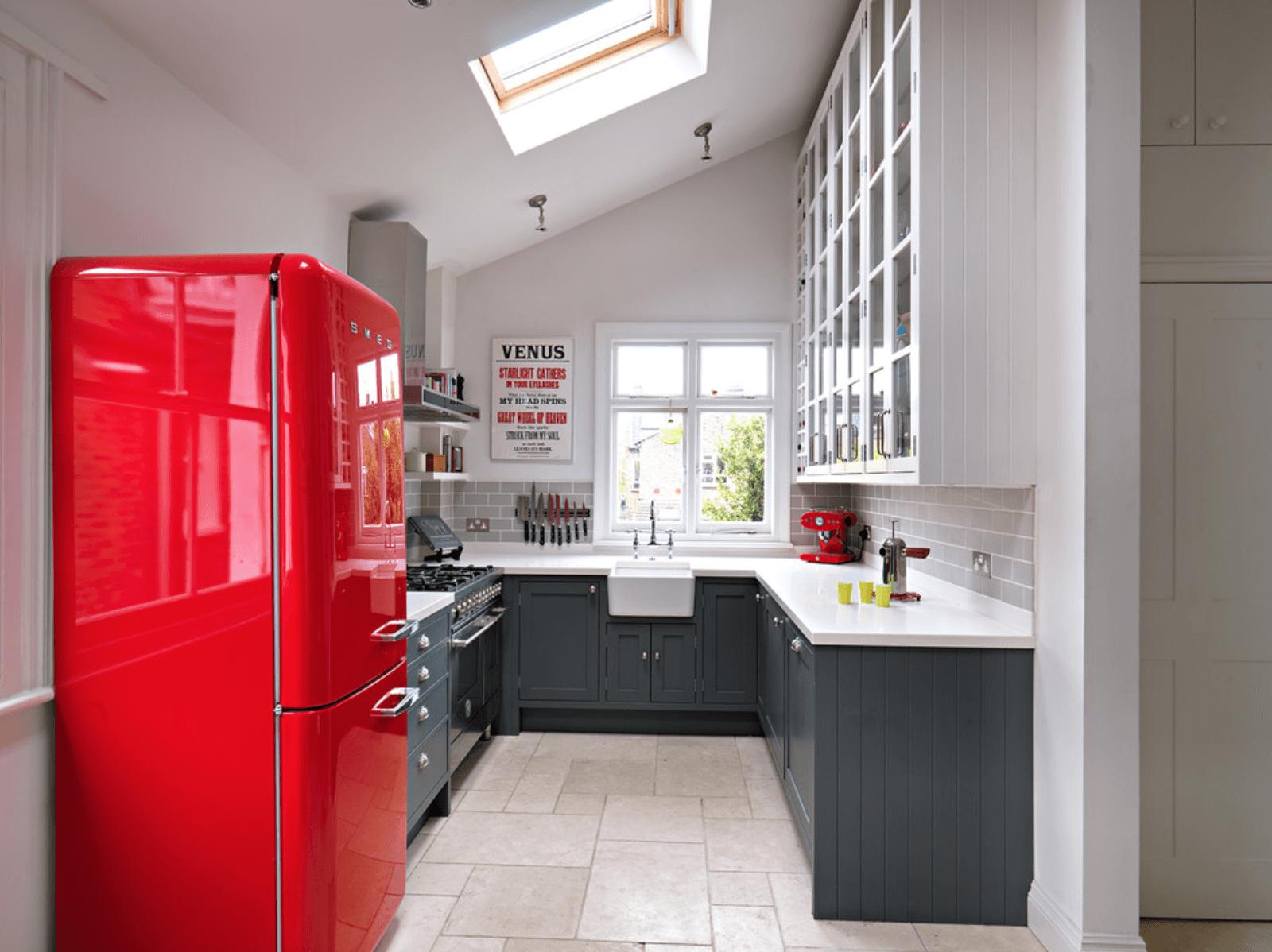 кухня с червен акцент_2