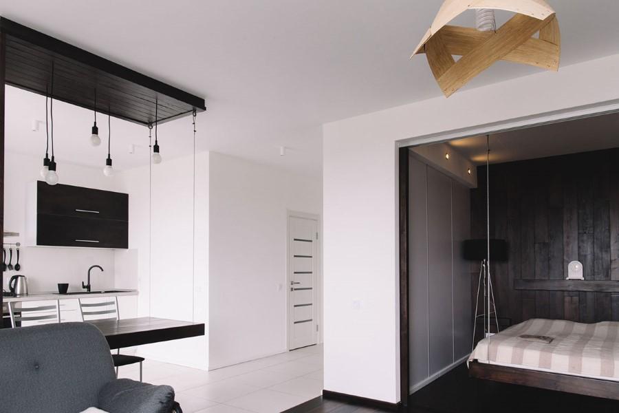 малък апартамент с изчистен интериор_16