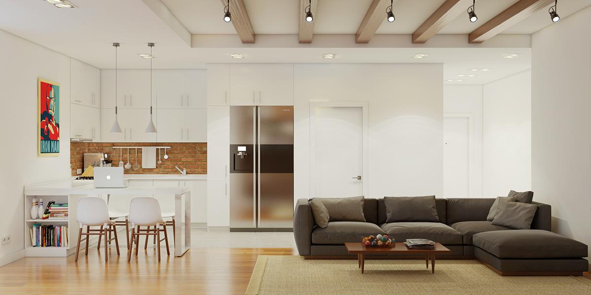 стена на тухлички_апартамент 1_3