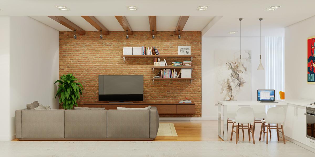 стена на тухлички_апартамент 1_4