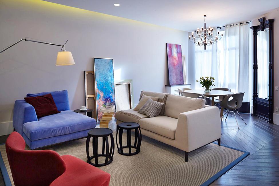 цветен апартамент в Киев_1
