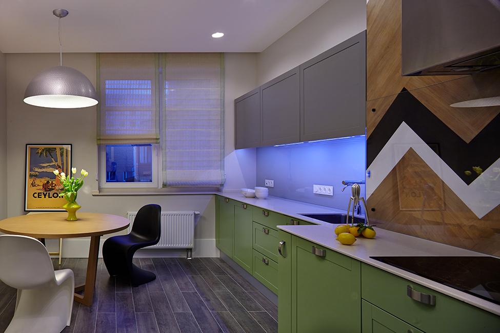 цветен апартамент в Киев_13