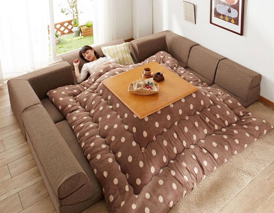 японското нагряващо легло с маса_котатсу_1