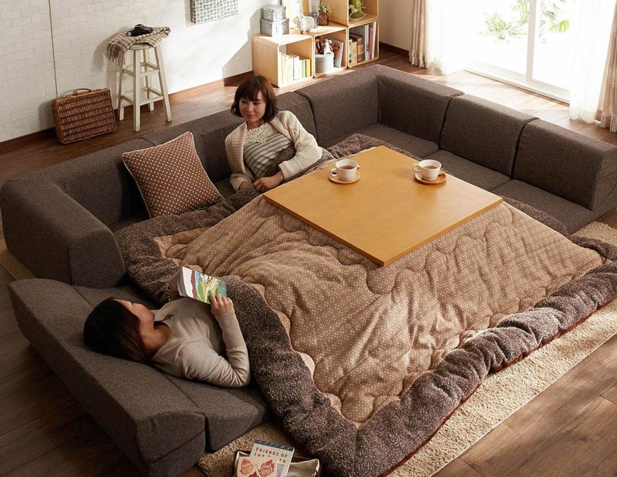 японското нагряващо легло с маса_котатсу_2