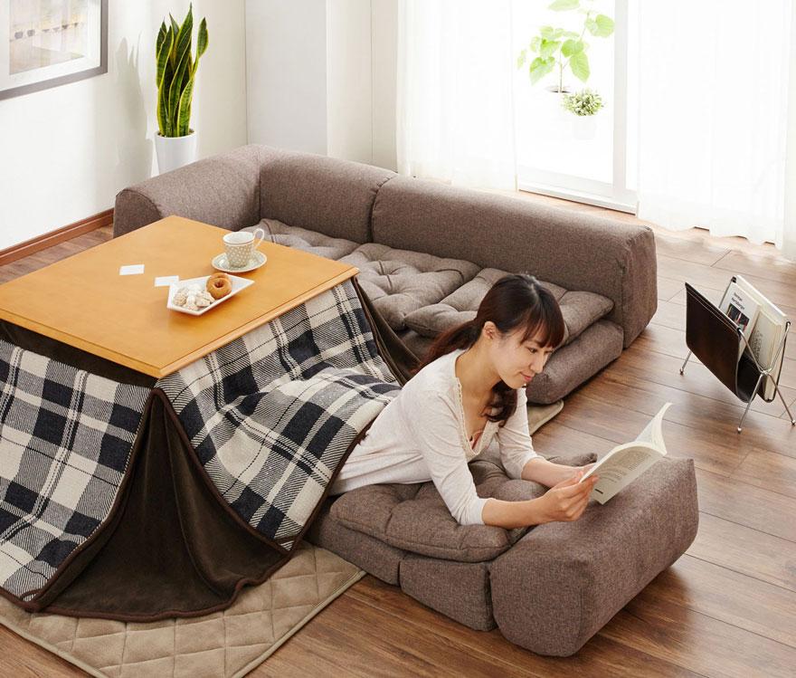 японското нагряващо легло с маса_котатсу_4