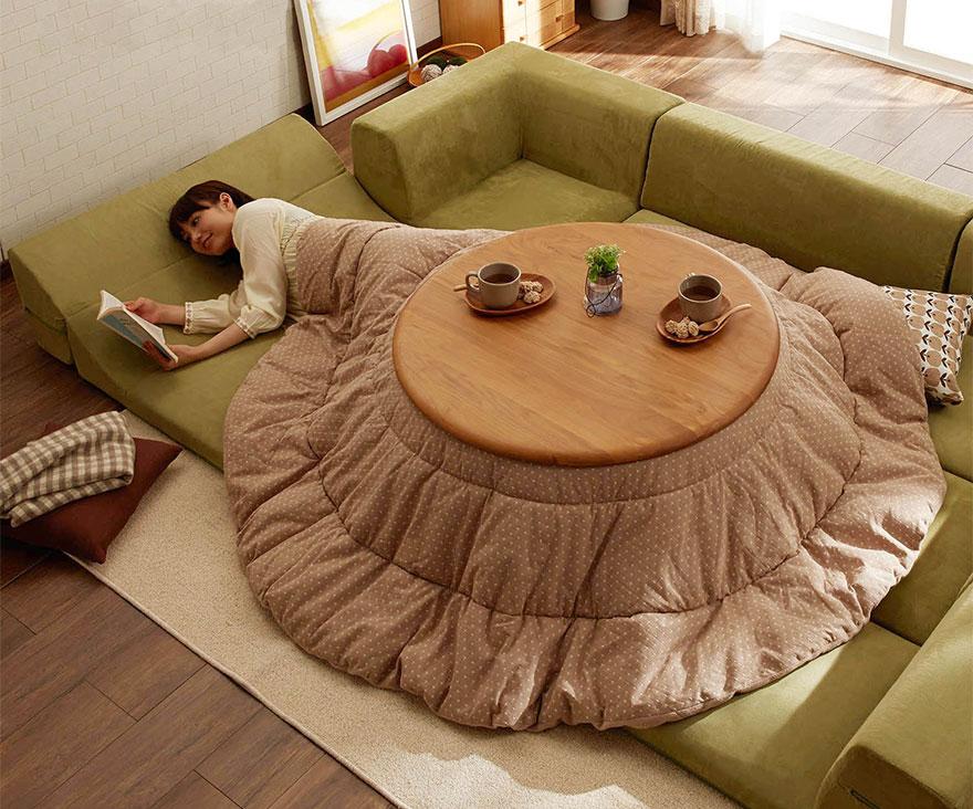 японското нагряващо легло с маса_котатсу_6
