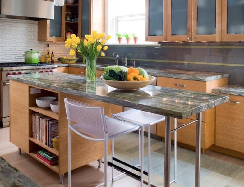 кухненски остров с шкафове_2