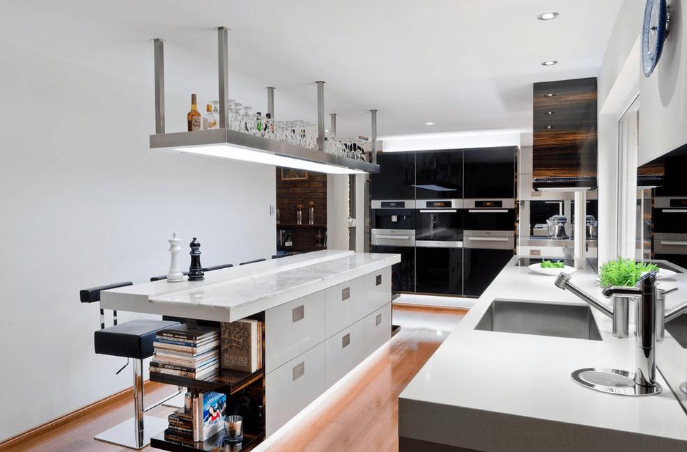 кухненски остров с шкафове_4