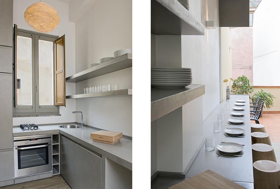 малка кухня в мини апартамент