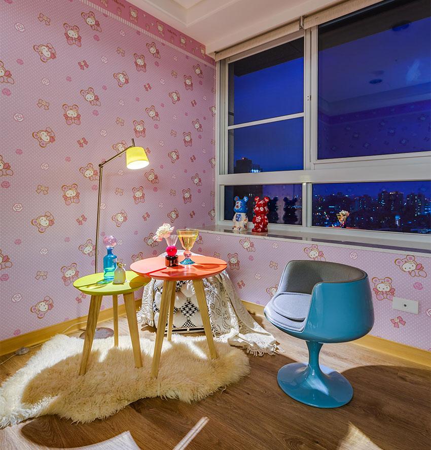 нови мебели_старо жилище_детска сатя