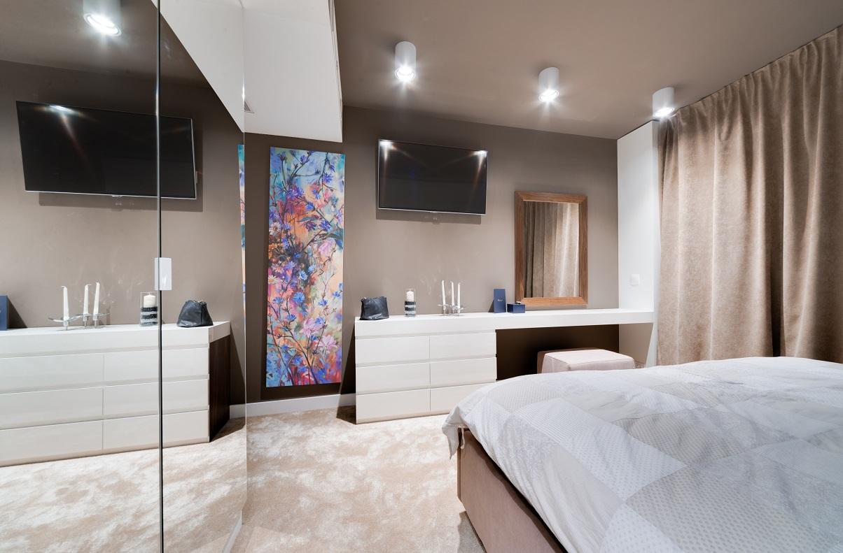 Красив апартамент София 70 кв. м_спалня_2