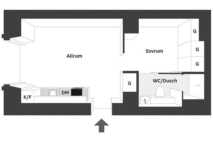 малък апартамент със стъклени прегради_35 кв. м_13