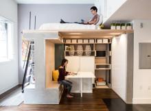 мултифункциоална система мебели за малък апартамент-5