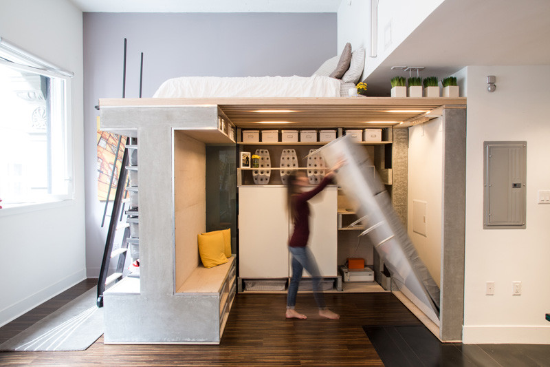 мултифункциоална система мебели за малък апартамент-7