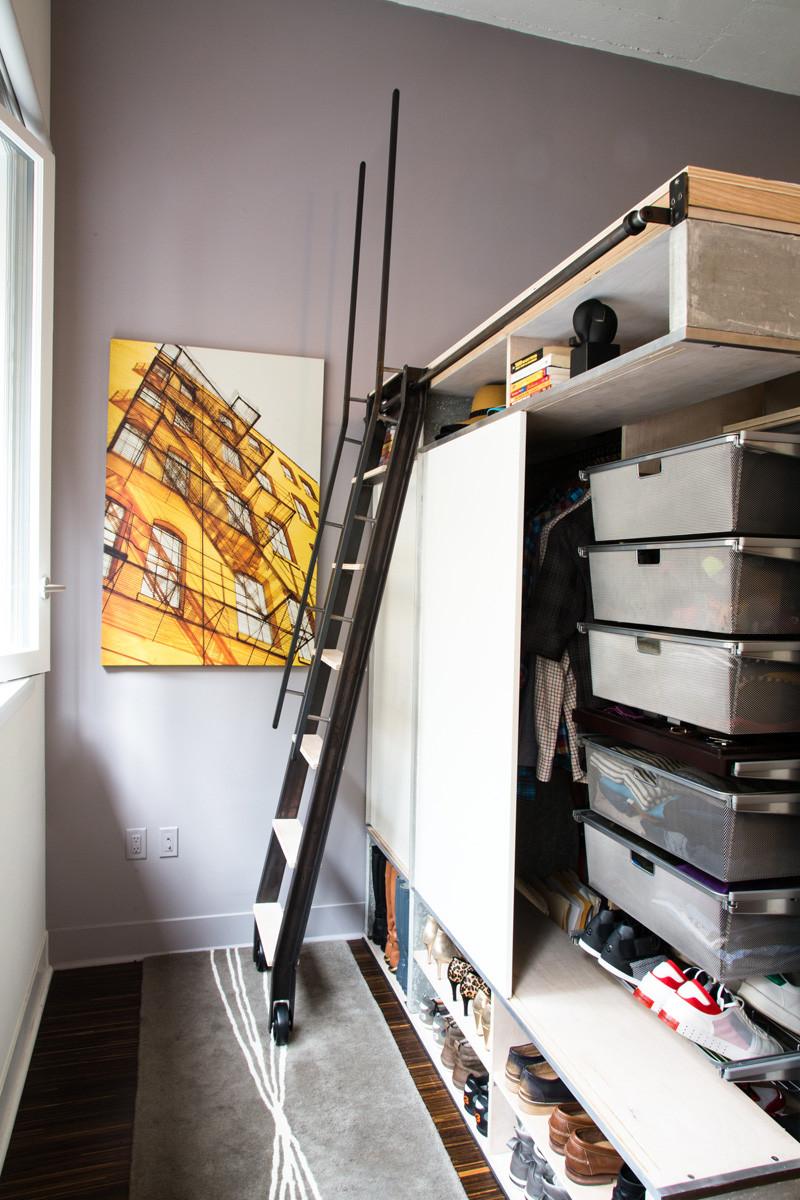 мултифункциоална система мебели за малък апартамент-9