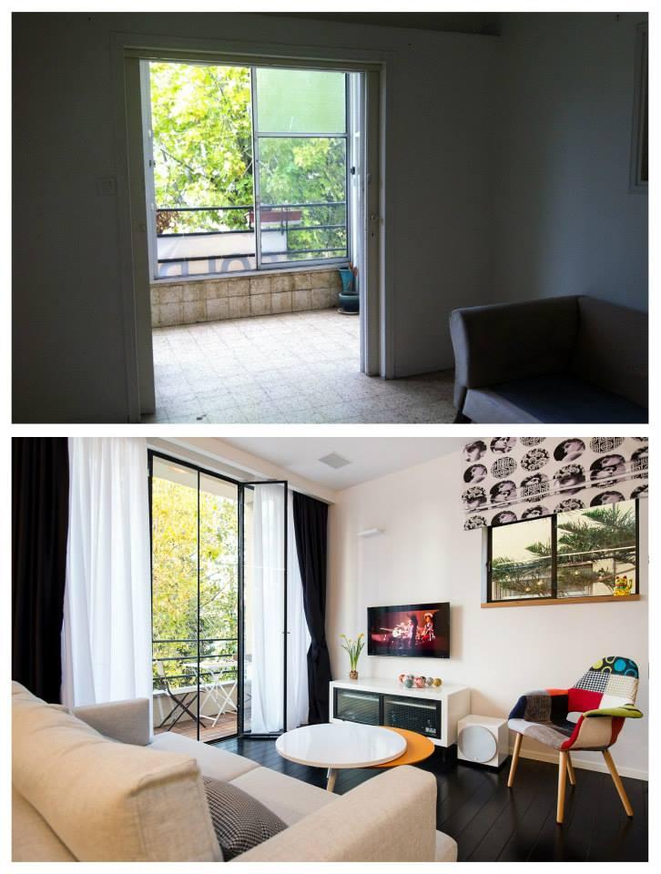 преди и след_46 кв. м апартамент в Тел Авив_2