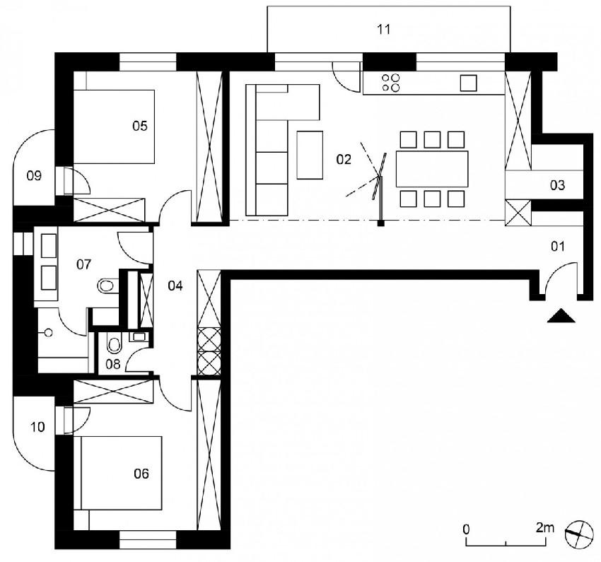 просторен и модерен лофт с второ ниво_17