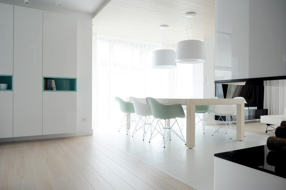 свежо и минималистично жилище в Полша_10