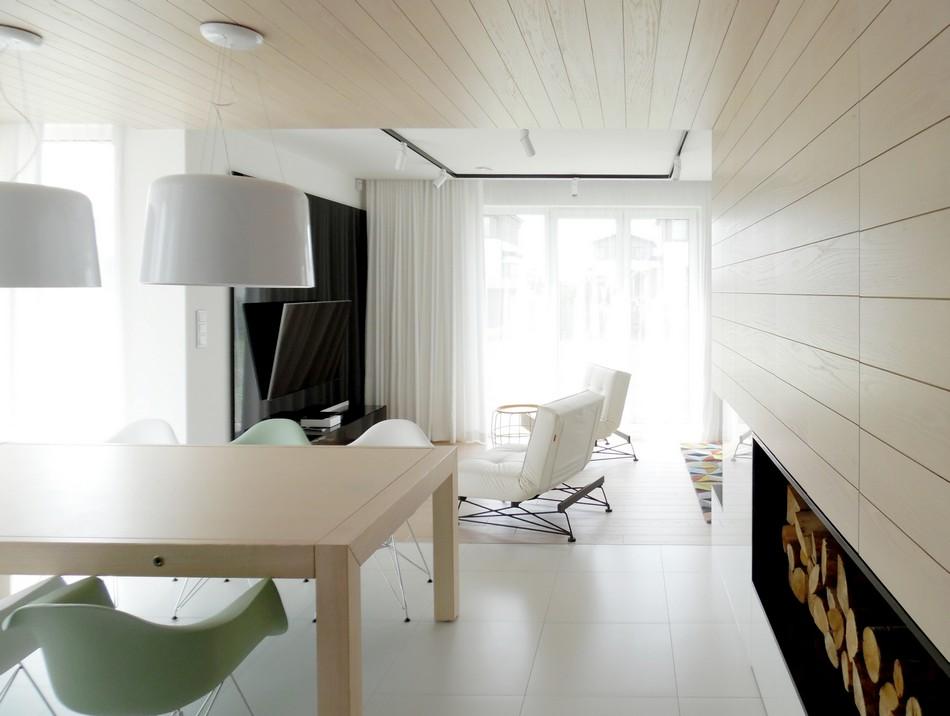 свежо и минималистично жилище в Полша_2