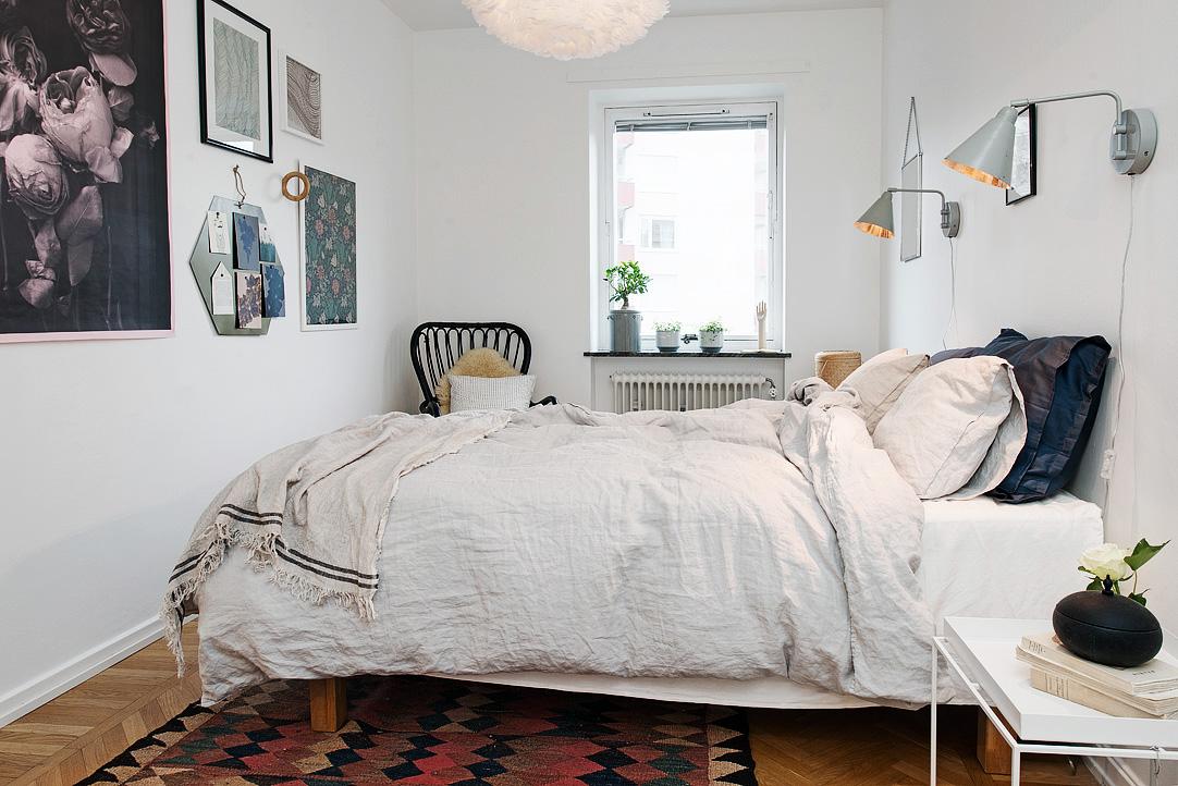 светъл двустаен апартамент в скандинавски стил_4