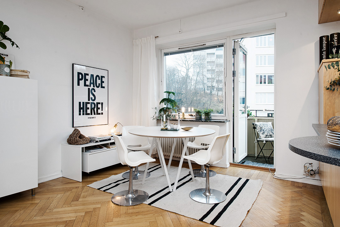 светъл двустаен апартамент в скандинавски стил_5