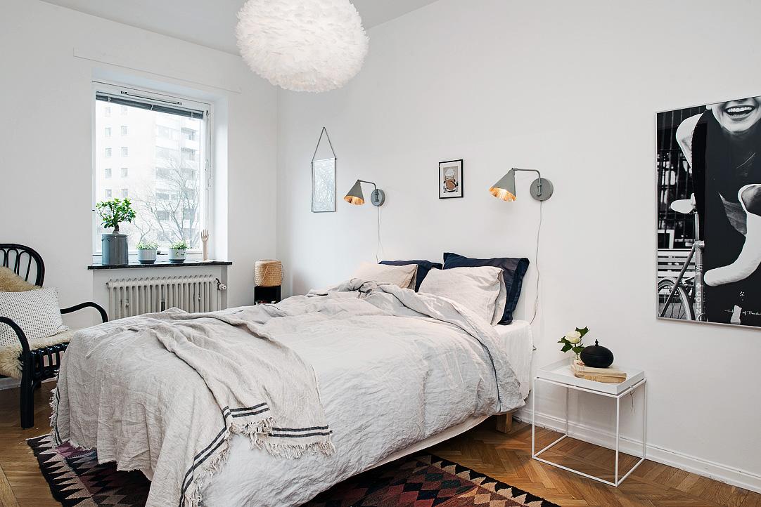 светъл двустаен апартамент в скандинавски стил_7