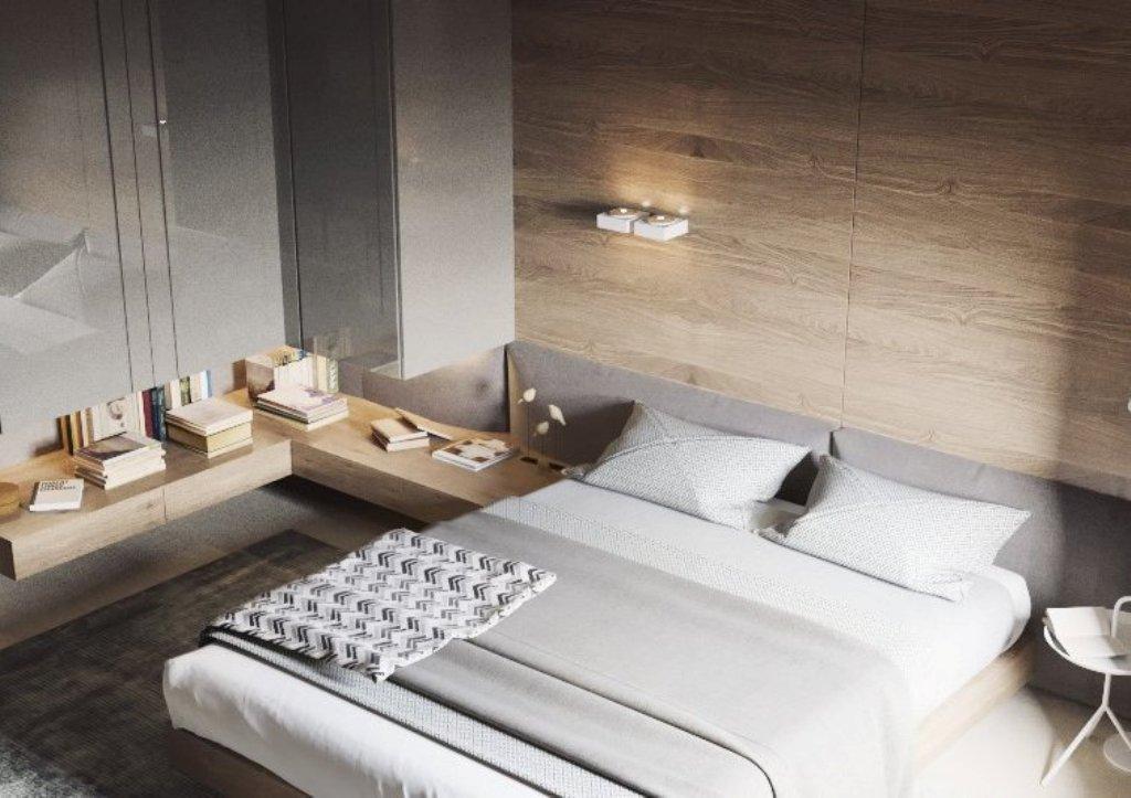 съвременен интериор, спокойно излъчване_спалня 1