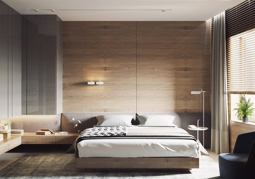 съвременен интериор, спокойно излъчване_спалня 2